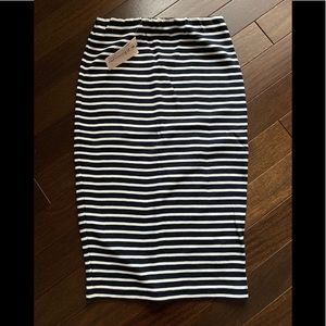 Philosophy black and white skirt NWT